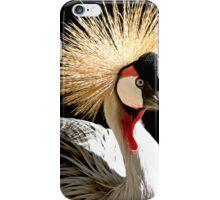 Royal Crowned Crane iPhone Case/Skin