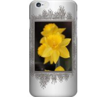 Daffodil named Exception iPhone Case/Skin