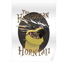 The Hungarian Horntail- Harry Potter Poster
