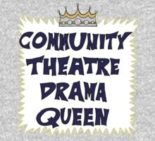 Community Theater Drama Queen Kids Clothes
