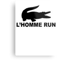 L'Homme Run Metal Print