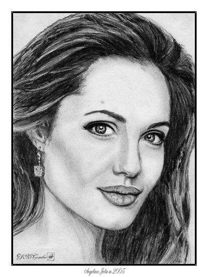 Angelina Jolie in 2005 by JMcCombie