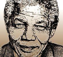 Nelson Mandela by JMcCombie