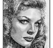 Lauren Bacall by JMcCombie