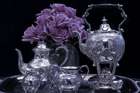 I Polished My Silver For You! by Sandra Foster