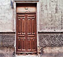 The old brown door by lenscraft