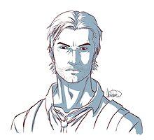 Sebastian Sketch by DHackWings