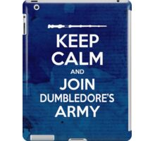 Keep Calm and Join Dumbledore's Army iPad Case/Skin