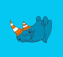 Rhino video player by tshirtbaba