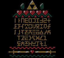ABCs of Time Ugly Sweater by fishbiscuit
