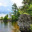 Lakeview Seat by Nancy Barrett
