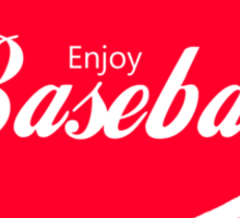 Enjoy Baseball Sticker