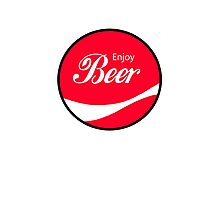Enjoy Beer Photographic Print