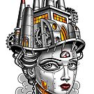#Industrial Strength Girl by Michael Pucciarelli