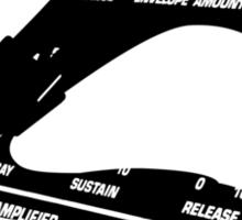 synth grammy Sticker