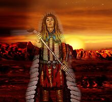 Sunset Chief by Gravityx9
