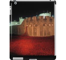 Poppies at the Tower of London - At Night #2 iPad Case/Skin