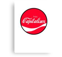 Enjoy Capitalism (b) Canvas Print