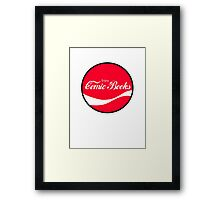Enjoy Comic Books Framed Print