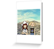 Thelma and Louise Greeting Card
