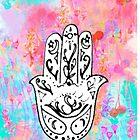 Hamsa doodle by maddiedrawings