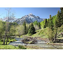 Sneffels in Springtime Photographic Print