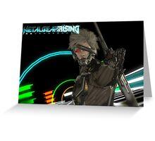 Metal Gear Rising: Revengance Raiden Greeting Card