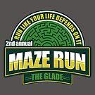 Maze Run 5K by fishbiscuit