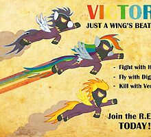 Fallout Equestria: Royal Equestrian Army Poster by muffleschan