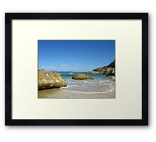 Squeaky Beach - Wilsons Promontory National Park Framed Print