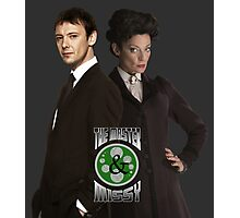 The Master & Missy: The Perfect Couple Photographic Print