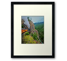 What A Ride ! Framed Print