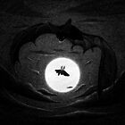 Drawlloween 2014: Bat by brianluong
