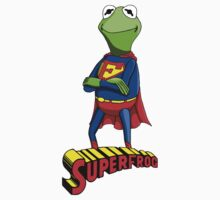 Kermit the Superman Kids Clothes