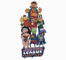 Justice League of Muppets by Joshessel