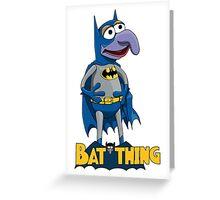 Gonzo the Batman Greeting Card