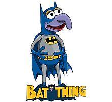 Gonzo the Batman Photographic Print