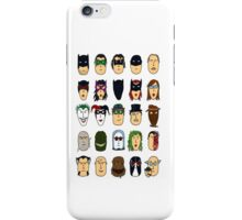 Batman Heroes & Villains iPhone Case/Skin