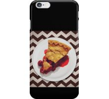 This cherry pie is a miracle iPhone Case/Skin