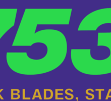 Reynolds 753, Enhanced Sticker
