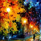 Blue Moon — Buy Now Link - www.etsy.com/listing/125705983 by Leonid  Afremov