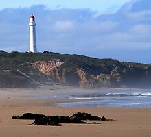 Fairhaven Lighthouse from the Beach by Chris Armytage™