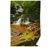Somersby Falls .. Thanks to Wazza Poster