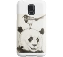 Panda and the Magpie Samsung Galaxy Case/Skin
