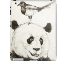 Panda and the Magpie iPad Case/Skin
