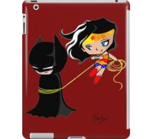 Batman and wonder woman iPad Case/Skin