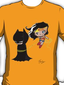 Batman and wonder woman T-Shirt