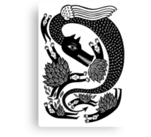And the dragon Canvas Print