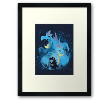totodile, croconaw and feraligart evolutions cool design Framed Print