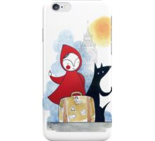 Red & Wolf in London iPhone Case/Skin